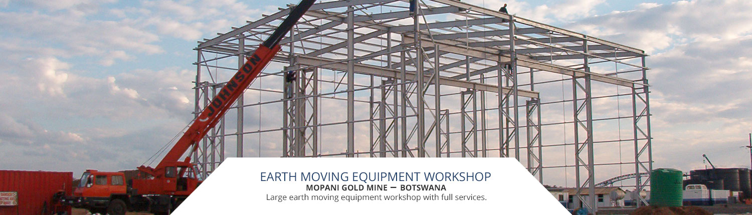 Large earth moving equipment workshop with full services