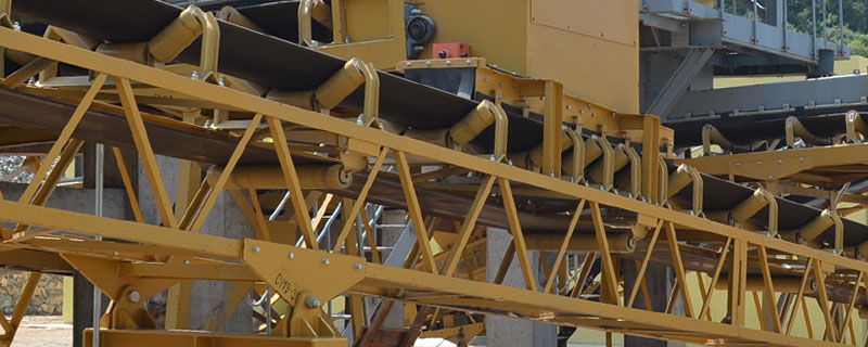 Mineral processing conveyers